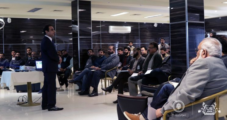 MR.QASIM ALI SHAH'S MOTIVATIONAL LECTURE AT US GROUP'S UNIT 2