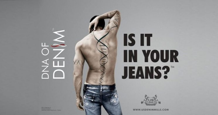 DNA OF DENIM? IS IT IN YOUR JEANS?