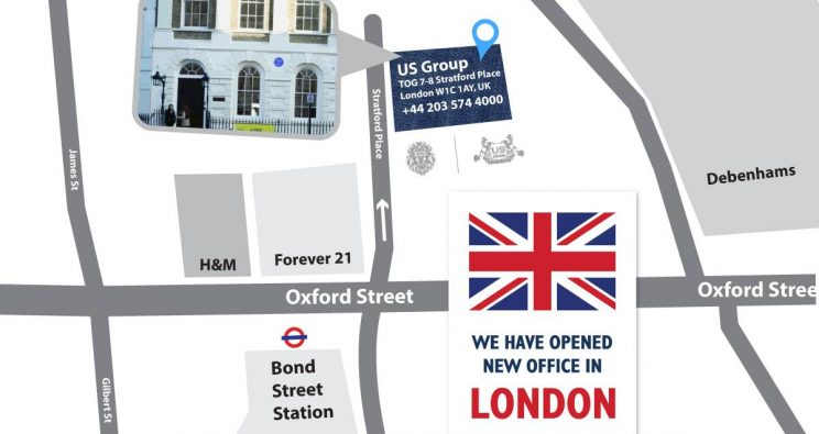 US GROUP – NEW OFFICE LONDON