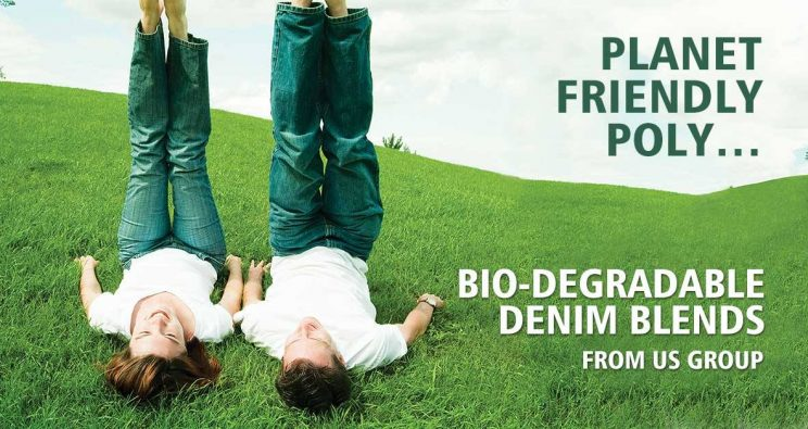 PLANET FRIENDLY POLY, BIO-DEGRADABLE DENIM BLENDS FROM US DENIM