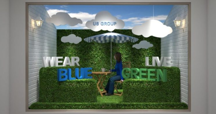 US GROUP – WEAR BLUE, LIVE GREEN