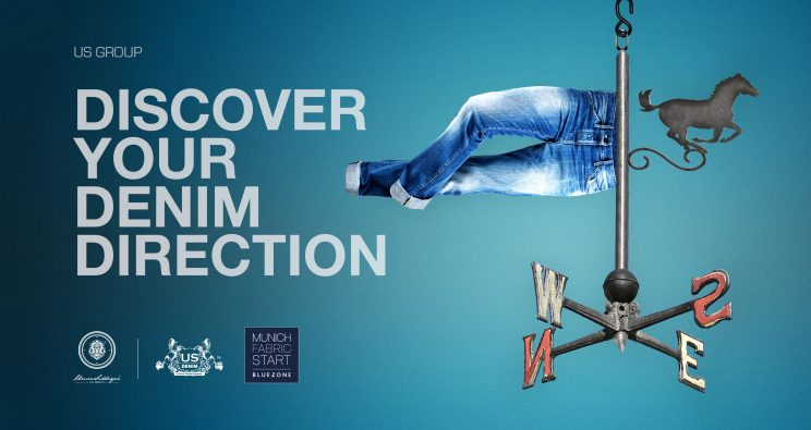 DISCOVER YOUR #DENIM DIRECTION AT #MUNICHFABRICSTART #BLUEZONE