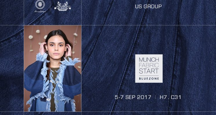 #USFASHION MUNICH FABRIC START BLUEZONE
